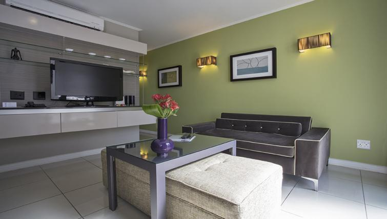 Living area at The Hyde Hotel Sea Point - Citybase Apartments