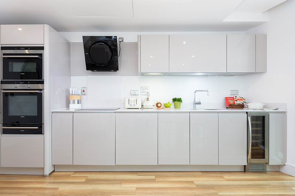 Kitchen at Altitude Point Apartments - Citybase Apartments