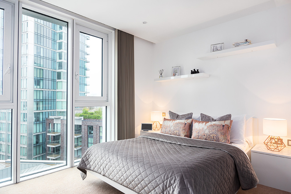 Bedroom at Altitude Point Apartments - Citybase Apartments