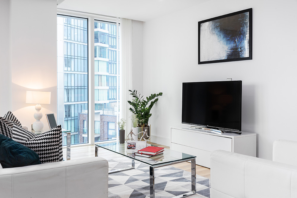 TV at Altitude Point Apartments - Citybase Apartments