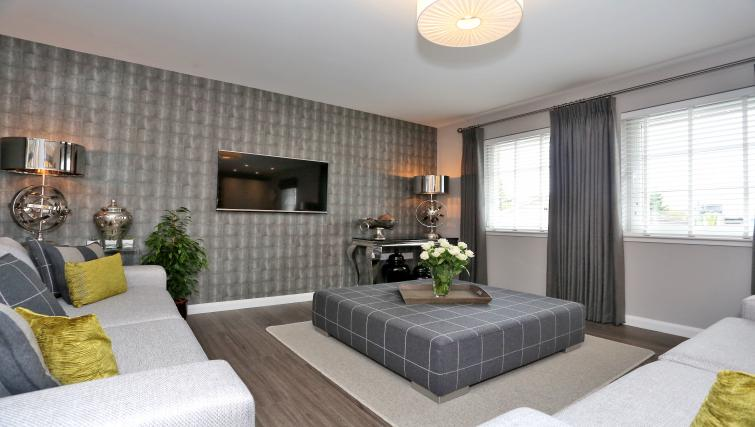 Living area at Priory Park Apartments - Citybase Apartments