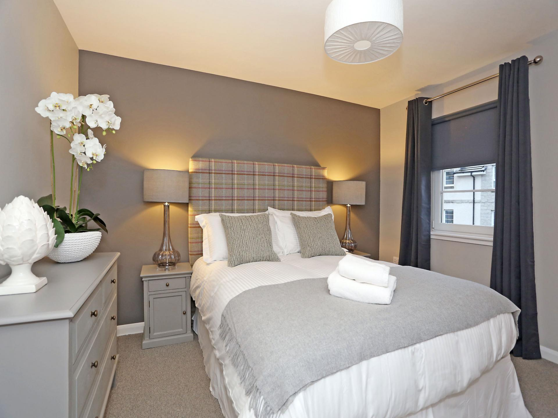 Cosy bed at Priory Park Apartments - Citybase Apartments