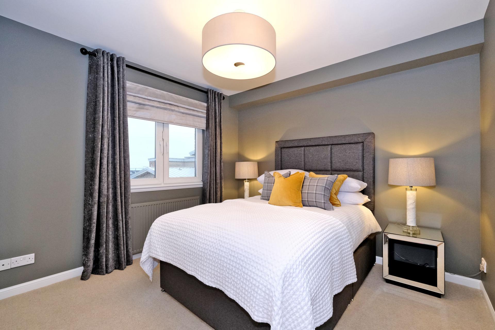 Bedroom at Bothwell Road Apartments - Citybase Apartments