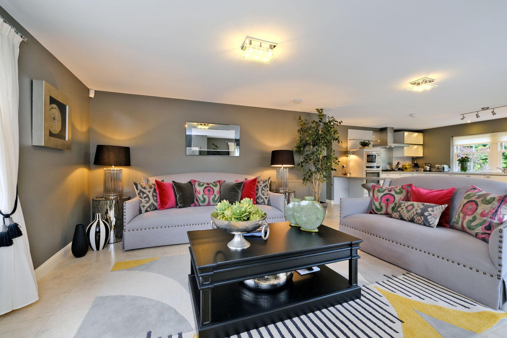 Sofas at Queens Road Apartments - Citybase Apartments