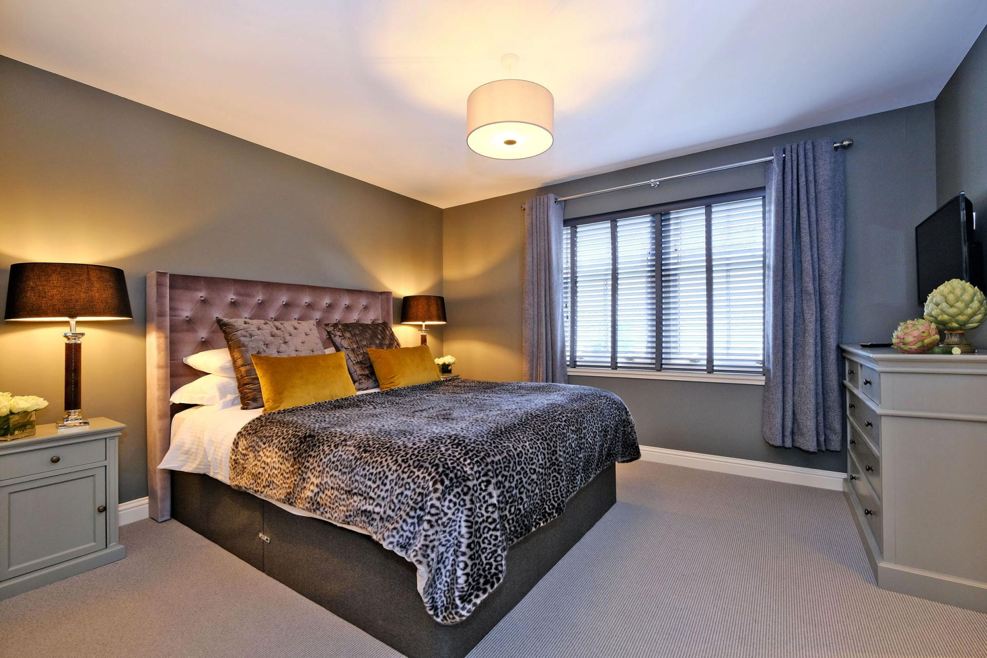 Comfy bed at Queens Road Apartments - Citybase Apartments