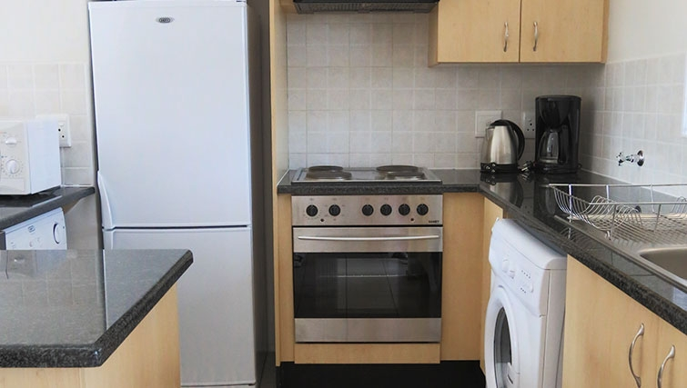 Kitchen at Times Square Executive Suites - Citybase Apartments