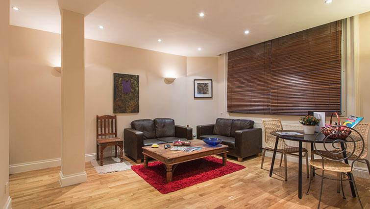 Living space at Abbotts Chambers Apartments - Citybase Apartments