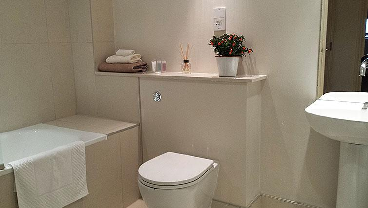 WC at Astral House Apartments - Citybase Apartments