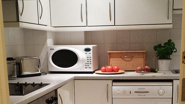 Well equipped kitchen at Astral House Apartments - Citybase Apartments