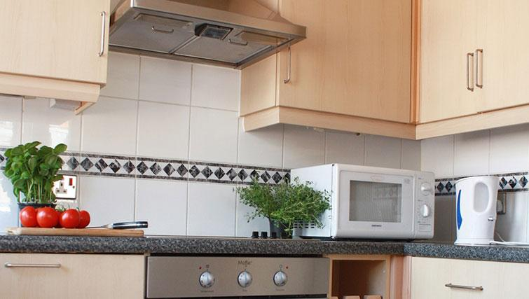 Kitchen at Astral House Apartments - Citybase Apartments