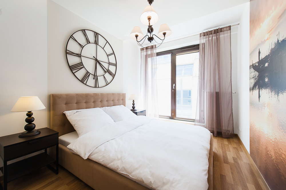 Bedroom at Wroclaw City Residence - Citybase Apartments