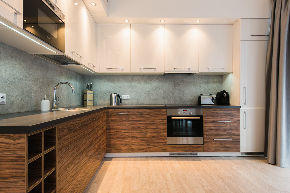 Kitchen at Wroclaw City Residence - Citybase Apartments