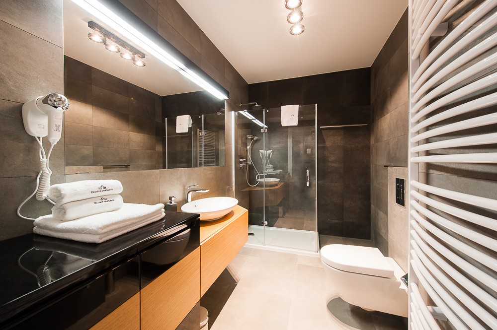 Bathroom at Wroclaw City Residence - Citybase Apartments
