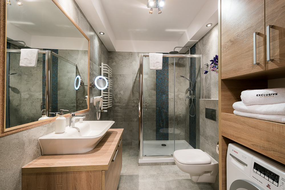 Double bedroom at Wroclaw City Residence - Citybase Apartments