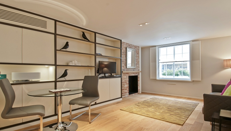 Bright living area at Wigmore Suites - Citybase Apartments