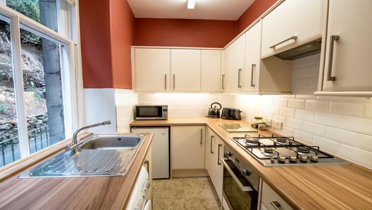 Kitchen at Cullaloe Apartment - Citybase Apartments