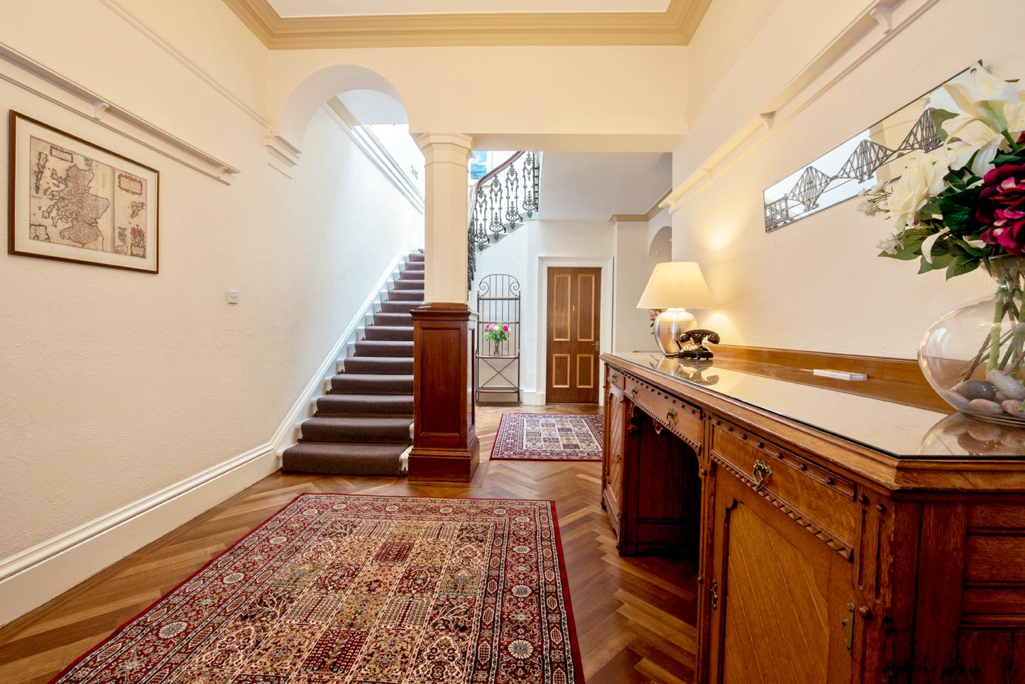 Hallway at Cullaloe Apartment - Citybase Apartments