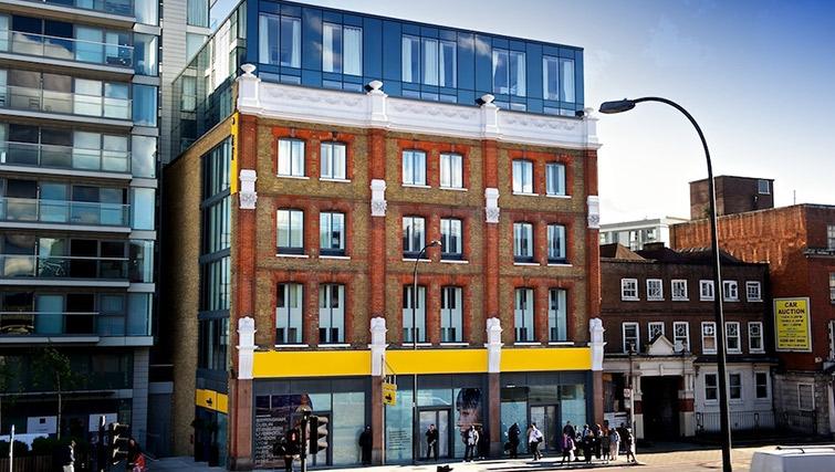 Grand exterior of Staycity London Deptford Bridge - Citybase Apartments