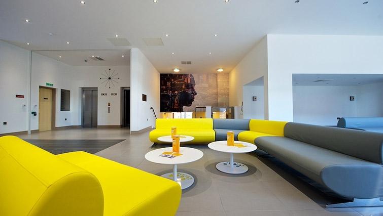 Reception at Staycity London Deptford Bridge - Citybase Apartments