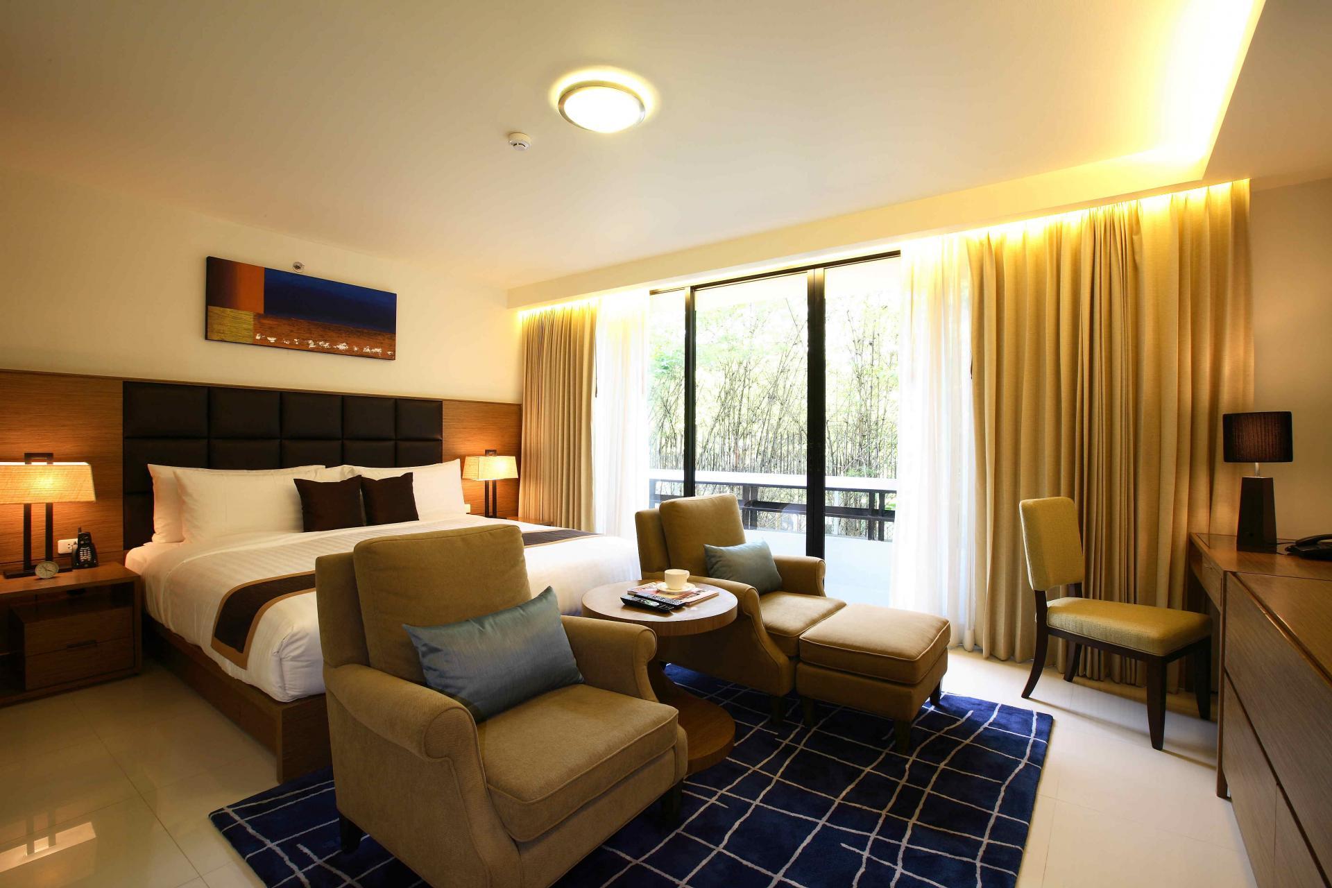 Bed in Oakwood Residence Sukhumvit Thonglor Bangkok - Citybase Apartments