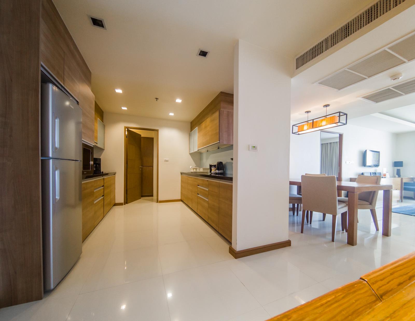 Layout in Oakwood Residence Sukhumvit Thonglor Bangkok - Citybase Apartments