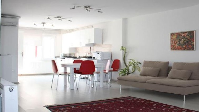 Dining area at Bosphorus Apartments - Citybase Apartments