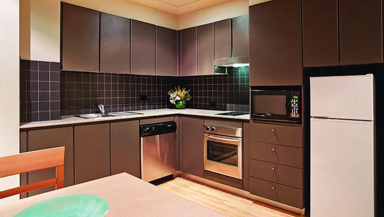 Kitchen at Adina Apartment Hotel Chippendale - Citybase Apartments