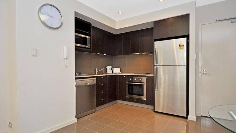 Kitchen at Milligan Apartment - Citybase Apartments