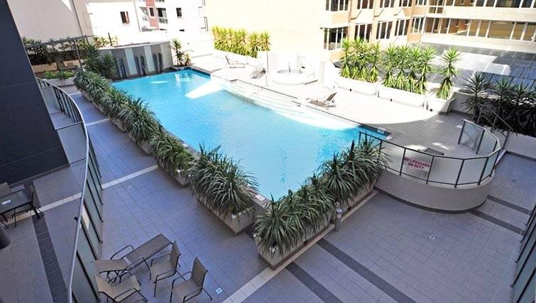 Pool at Milligan Apartment - Citybase Apartments