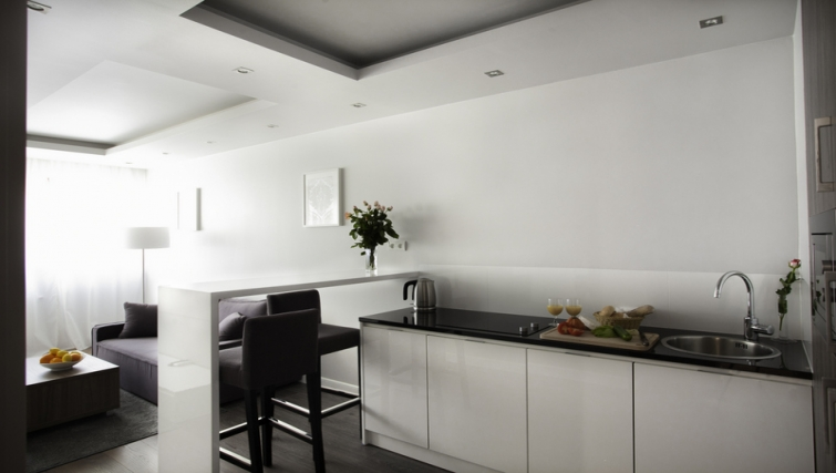 Kitchen at Oxygen Residence - Citybase Apartments