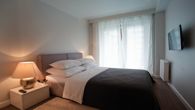 Bedroom at Oxygen Residence - Citybase Apartments