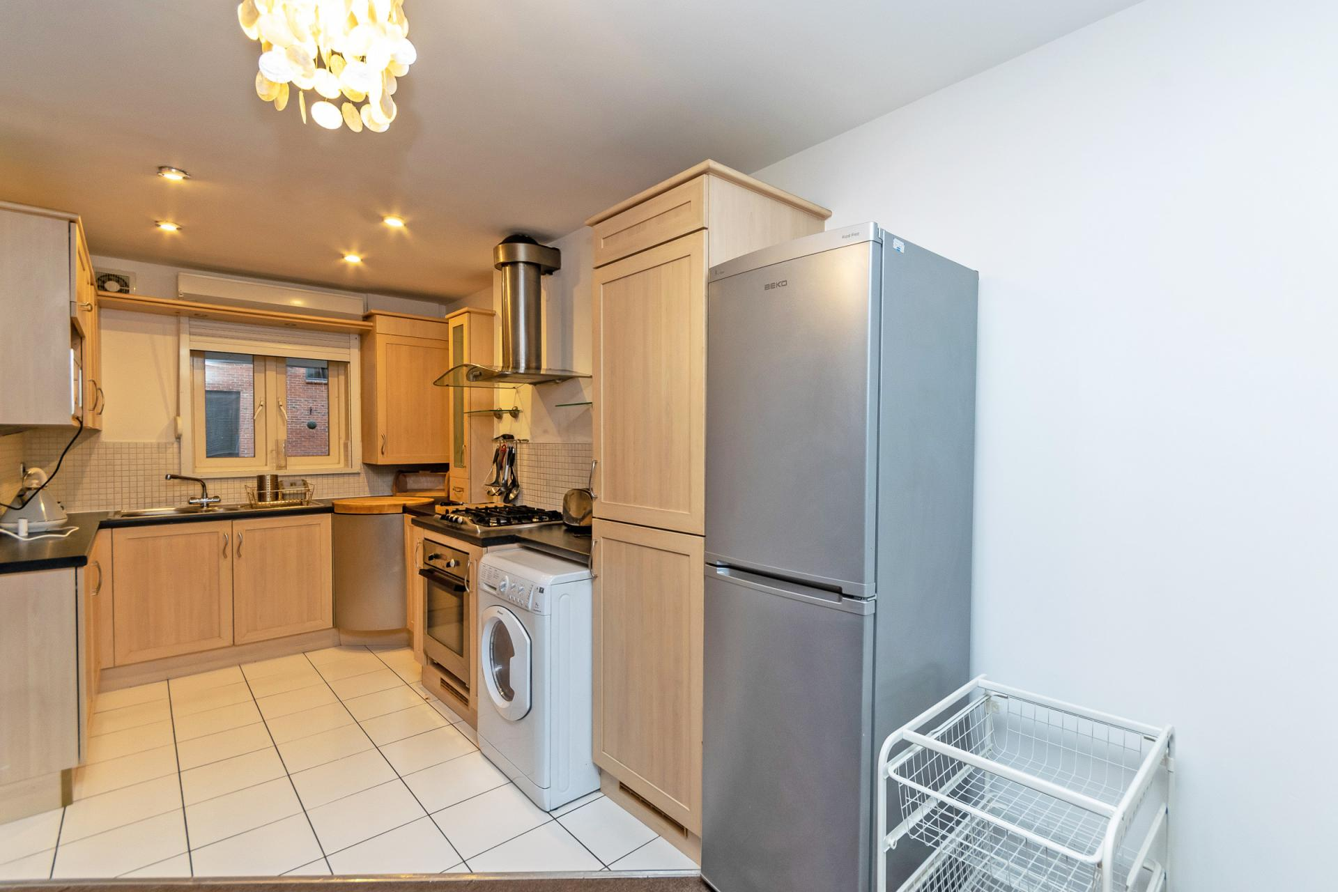 Kitchen at Bakers Court Apartment - Citybase Apartments