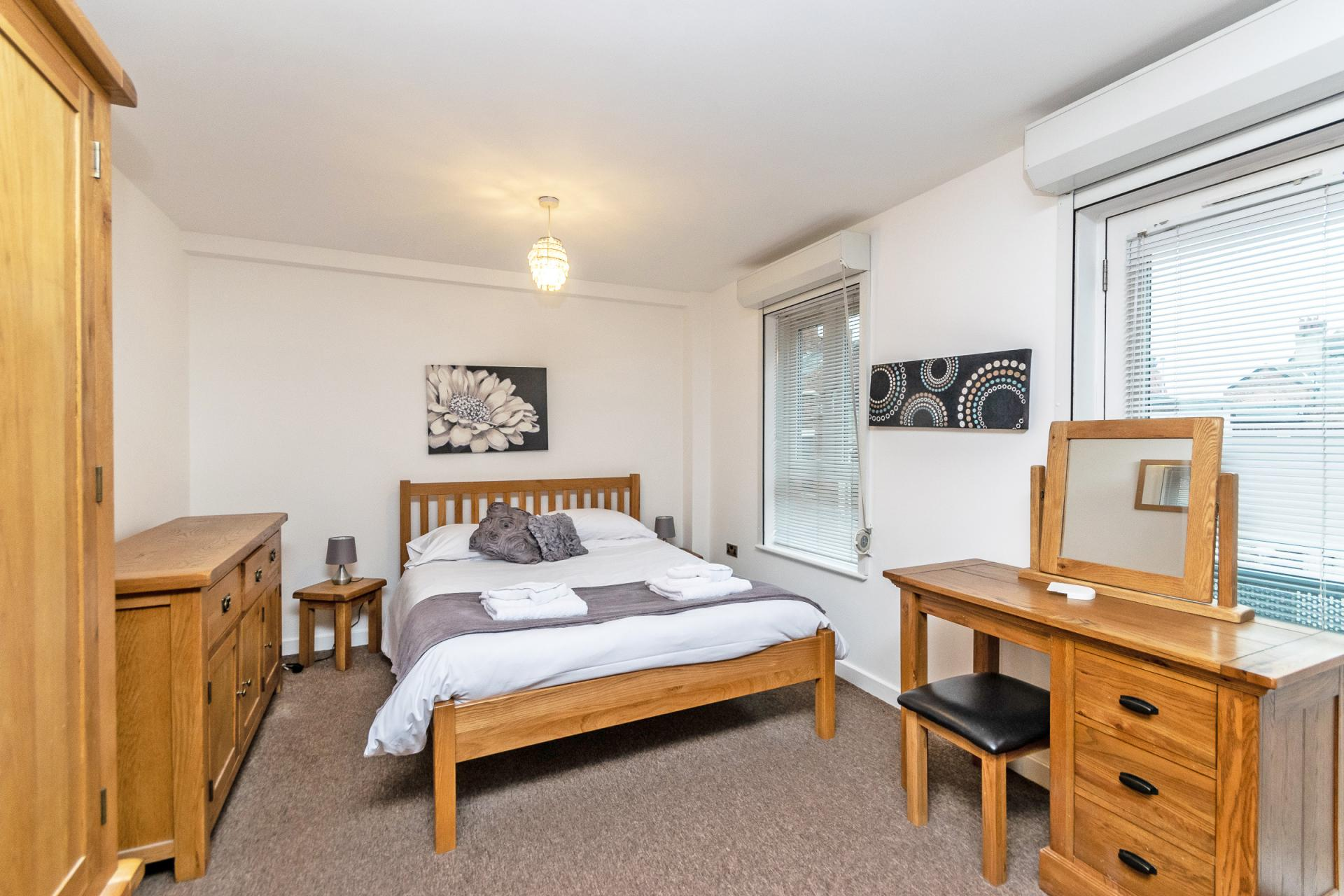 Bedroom at Bakers Court Apartment - Citybase Apartments