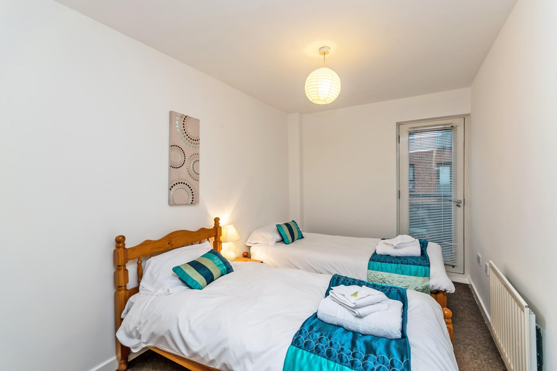 Cosy room at Bakers Court Apartment - Citybase Apartments