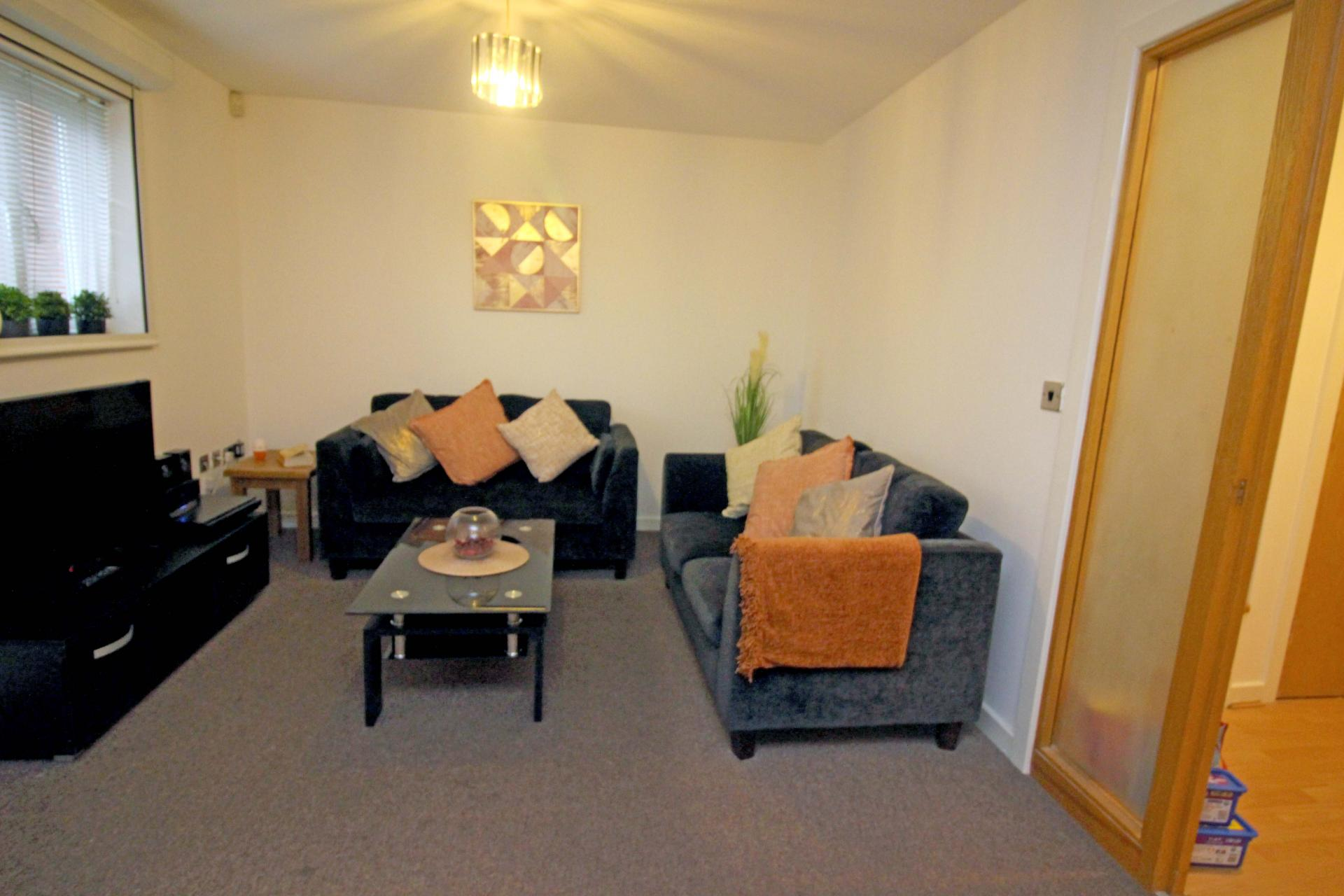 Sofas at Bakers Court Apartment - Citybase Apartments
