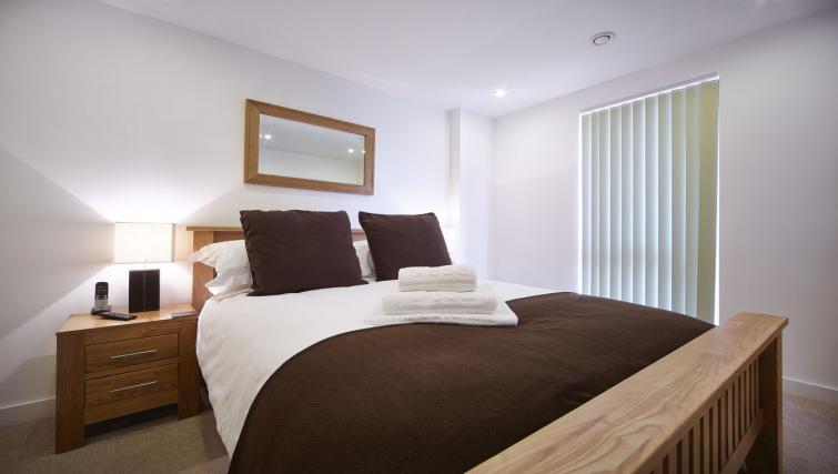 Modern bedroom at Lexington Slough Apartments - Citybase Apartments