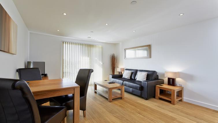 Compact living area at Lexington Slough Apartments - Citybase Apartments