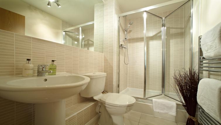 Modern bathroom at Lexington Slough Apartments - Citybase Apartments