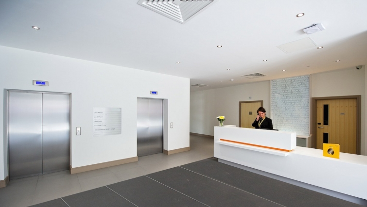 Reception at Staycity London Greenwich High Road - Citybase Apartments