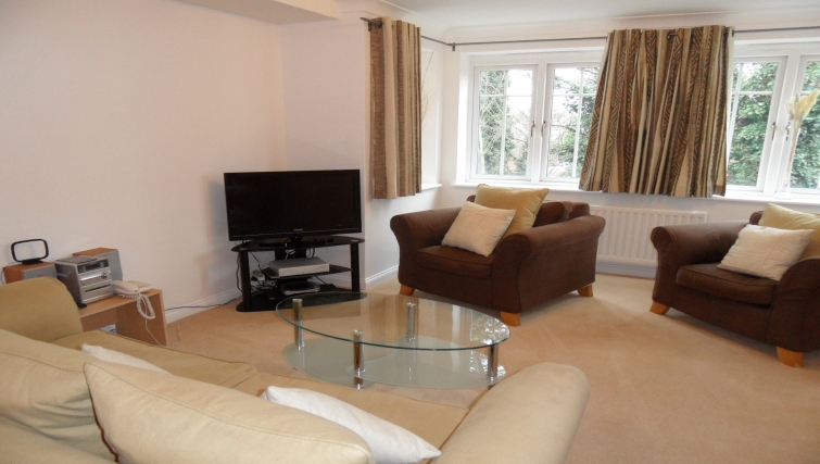 comfortable living area at Westlands House - Citybase Apartments