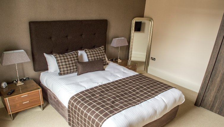Relaxing bedroom at Blythswood Apartments - Citybase Apartments