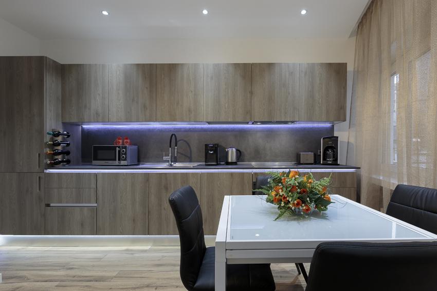 Kitchen at Villa Liberty Apartments - Citybase Apartments