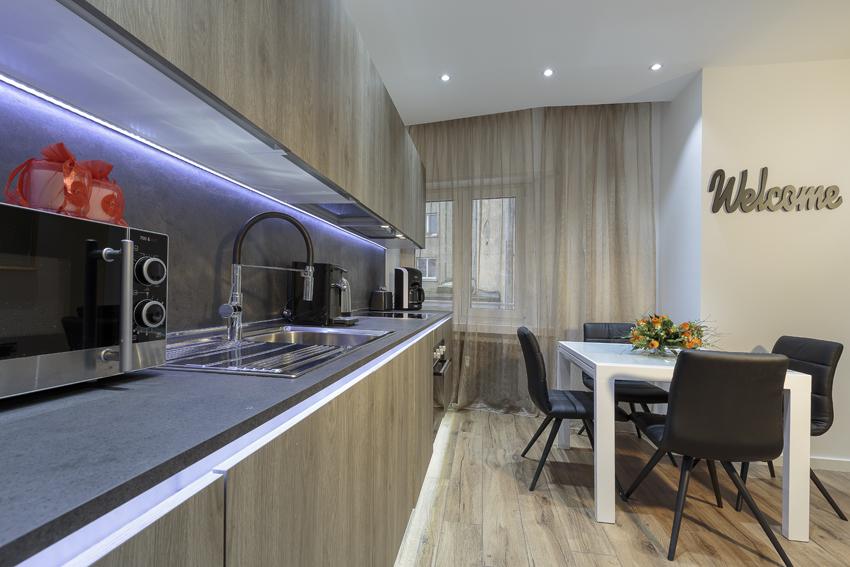 Sink at Villa Liberty Apartments - Citybase Apartments