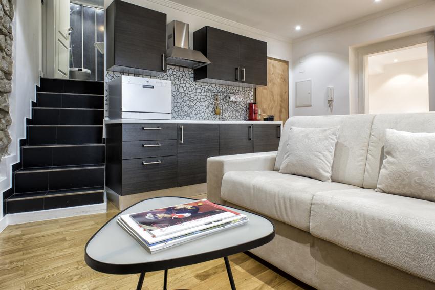 Coffee table at Villa Liberty Apartments - Citybase Apartments
