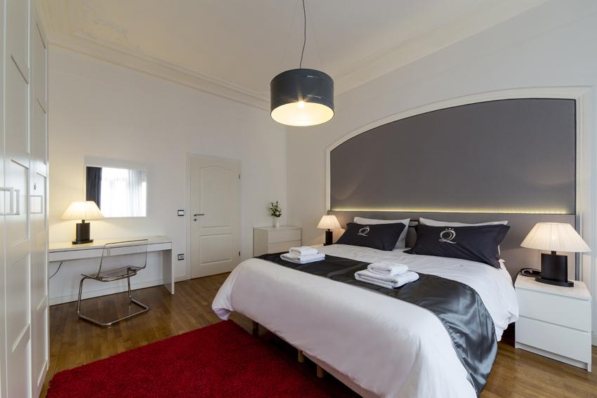 Spacious bedroom at Villa Liberty Apartments - Citybase Apartments