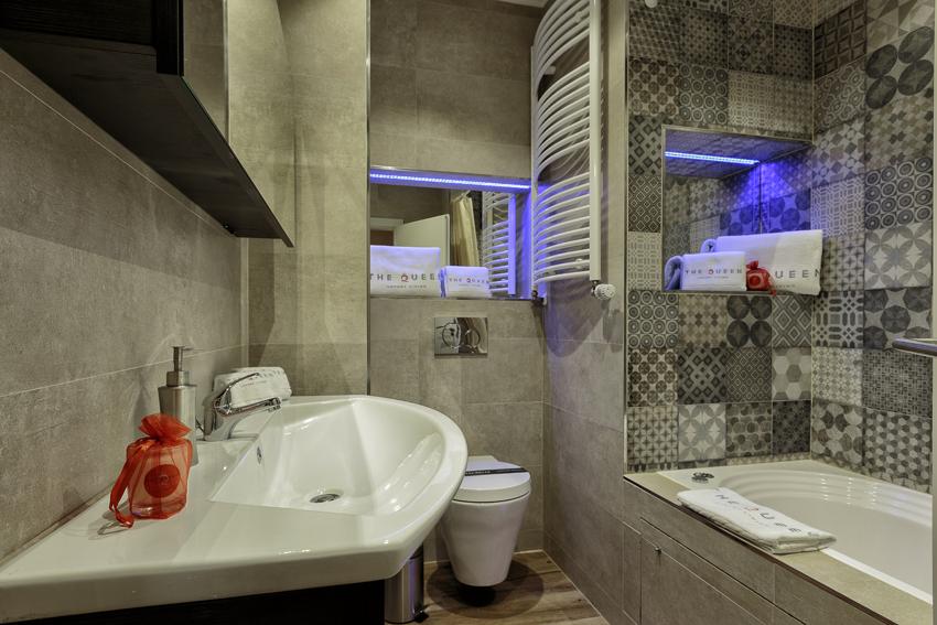 Bathroom at Villa Liberty Apartments - Citybase Apartments