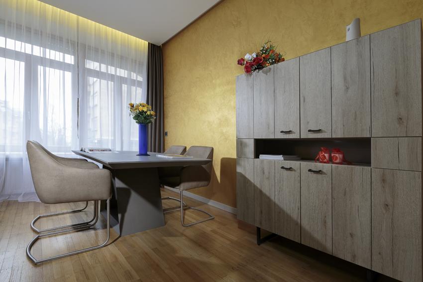 Dining area at Villa Liberty Apartments - Citybase Apartments