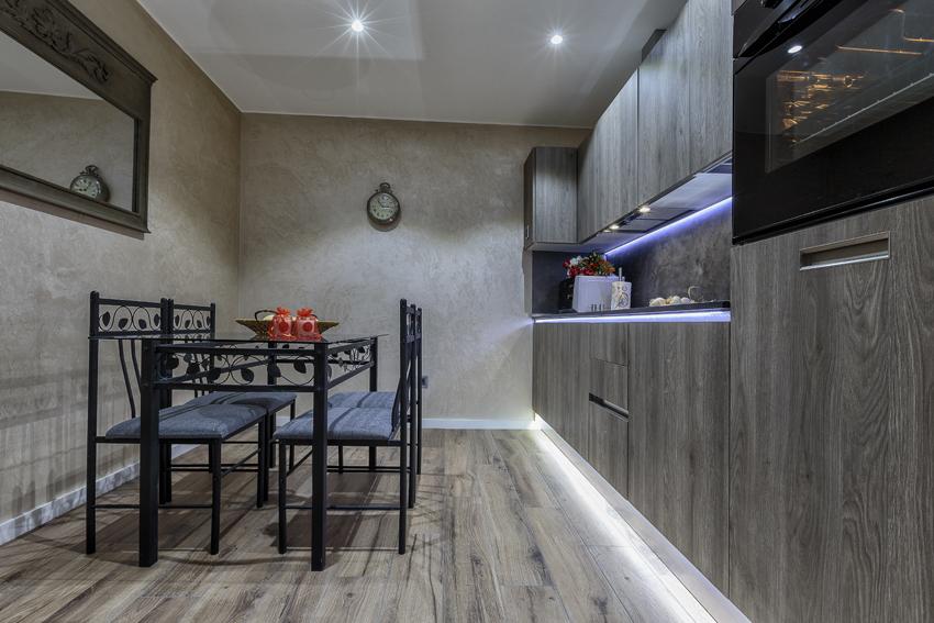 Modern kitchen at Villa Liberty Apartments - Citybase Apartments