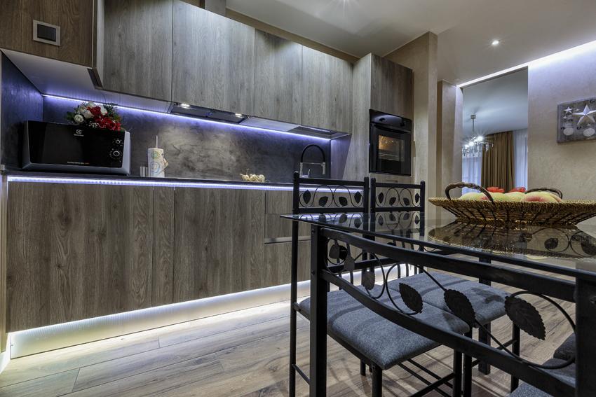 Seating area at Villa Liberty Apartments - Citybase Apartments