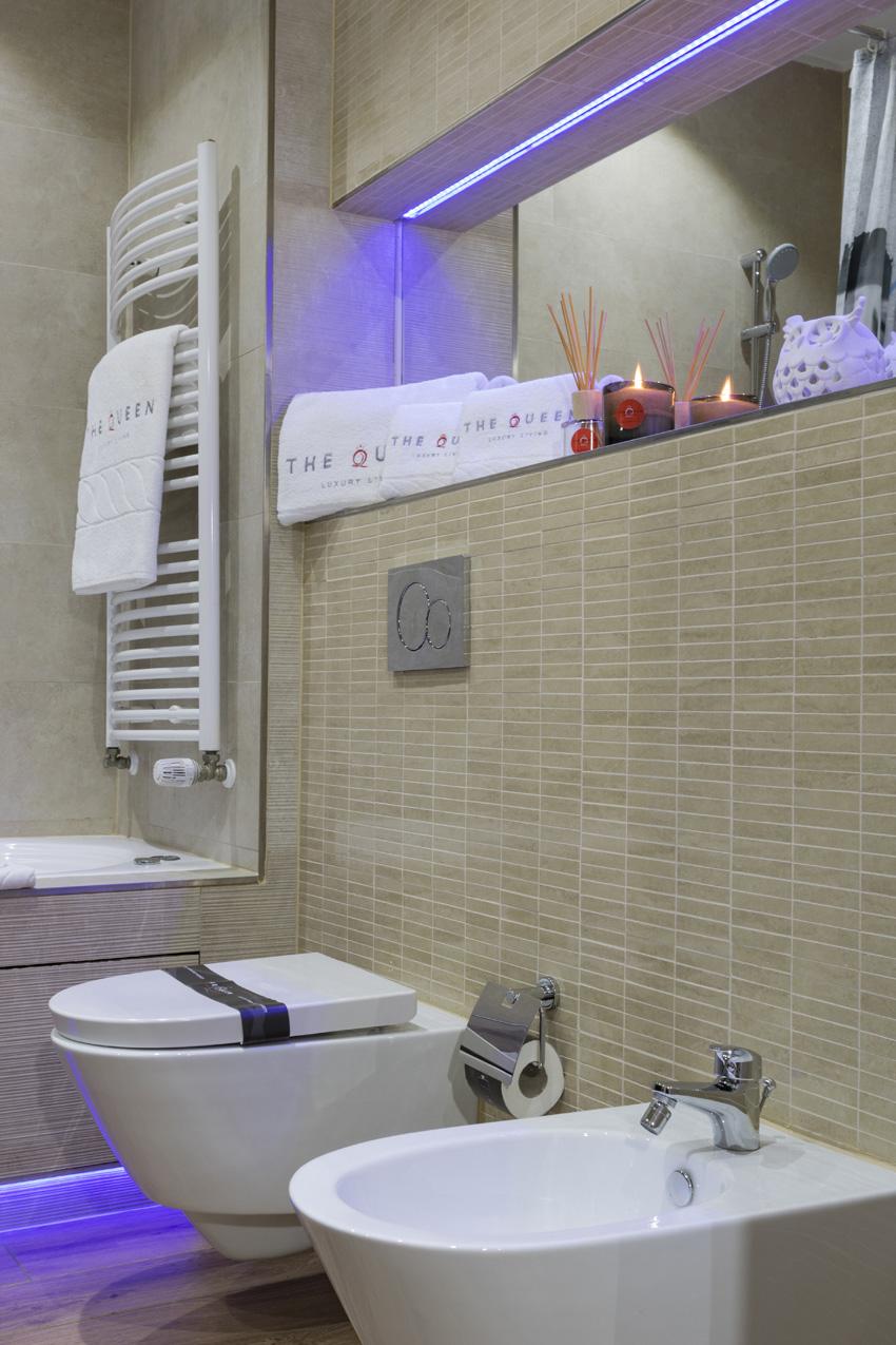 Toilet at Villa Liberty Apartments - Citybase Apartments